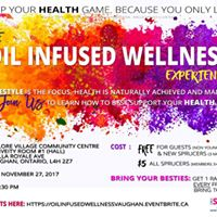 Oil Infused Wellness Experience  Blue Spruce Club