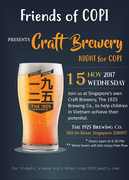 Craft Brewery Night for COPI