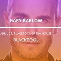 Gary Barlow in Blackpool