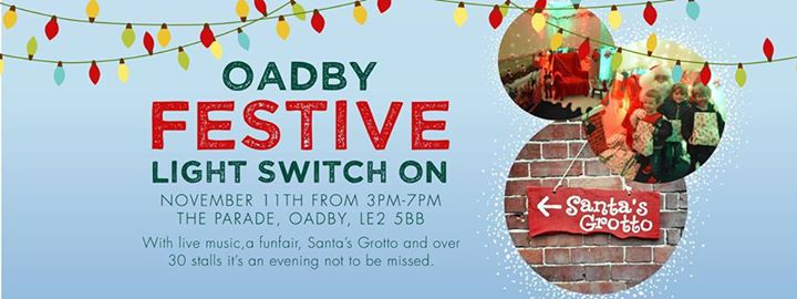 Image result for oadby christmas lights switch on 2017