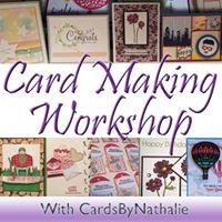 Mom &amp Me Christmas Card Making Workshop