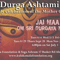 Durga Ashtami Monthly Celebration of the Universal Shakti
