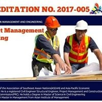 Cag de Oro Accredited CPD Program Project Mgmt &amp Const Engg