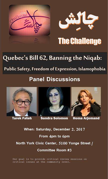 Quebecs Bill 62 Banning the Niqab