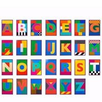 Peter Blake Alphabet Exhibition