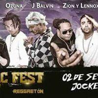 Jbalvin  Yandel  Ozuna  Zion y Lennox  Lima Music Fest