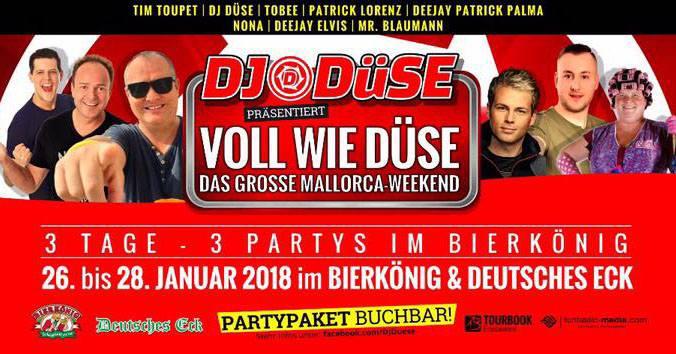Dj Duse Voll Wie Duse Geburtstagsparty At Bierkonig Official Site