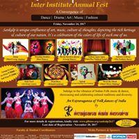 Inter Institute Annual Cultural Fest Sankalp2K17 on 24-Nov-2017