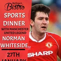 Sports Dinner with Norman Whiteside