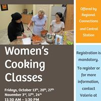 Womens Cooking Classes