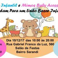Bazar Infantil da Conto Infantil e da Mimos Baby Acessrios