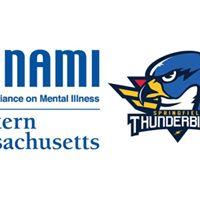 Springfield T-birds Jersey Raffle to Benefit NAMI-Western Mass