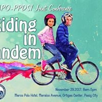 1st Apo-Ppdsi Joint Conference Riding in Tandem