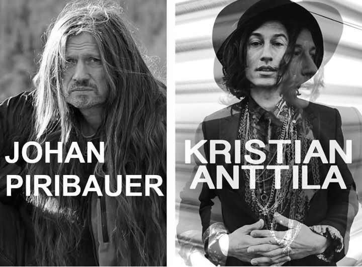 Konsert med Johan Piribauer och Kristian Anttila