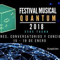 1er Festival Musical Quantum 2018 - Sede Tacna