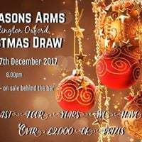 The Masons Arms Christmas Draw