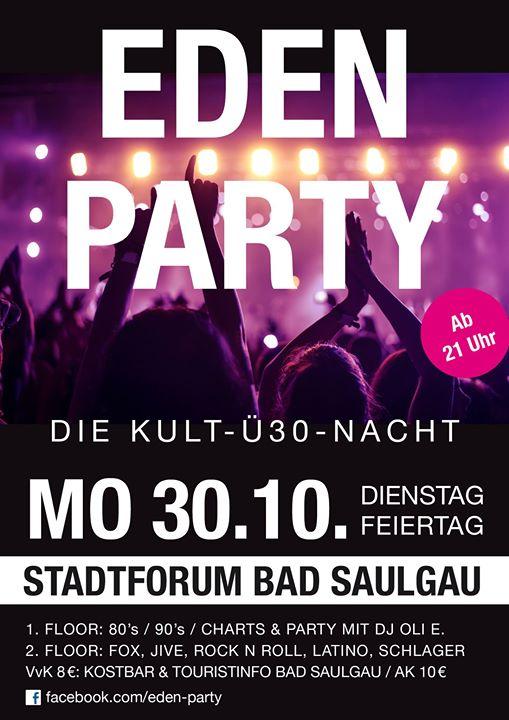 ü30 party baden württemberg