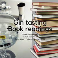 Gin tasting &amp Book readings 8pp