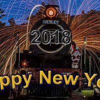 New Year Morning Diesel Train