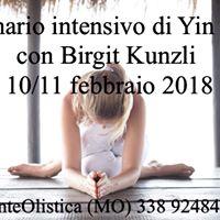 Seminario intensivo di Yin Yoga con Birgit Kunzli