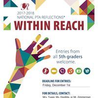 Reflections Art Competition Deadline
