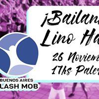 Bailando con Lino Hass Buenos Aires Flash Mob