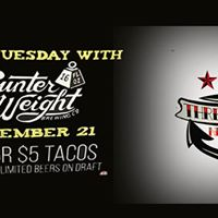 Taco Tuesday with Counter Weight Brewing Company