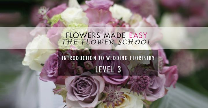 Wedding Floristry - 1 Day Course - Level 3