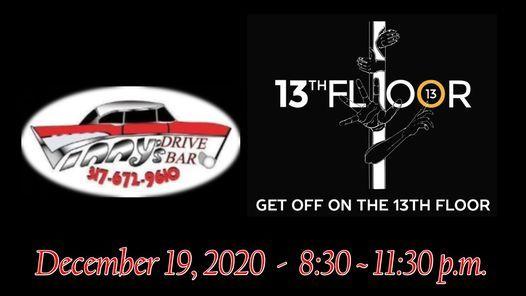 Celebration Of Christmas 2020, December 19 13th Floor & Vinnys   Christmas Celebration!, Vinny's Drive Bar