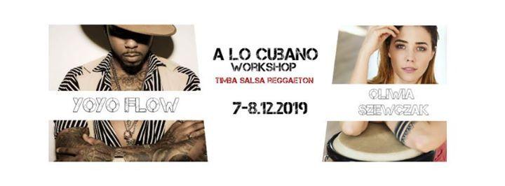 A lo cubano workshops - Yoyo Flow & Oliwia Szewczak