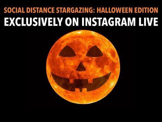 Halloween 2020 South Bend Stargazing: Livestream via Instagram 2020 | south bend