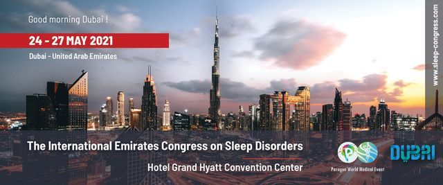 The International Emirates Congress on Sleep Disorders, 24 May | Event in Dubai | AllEvents.in