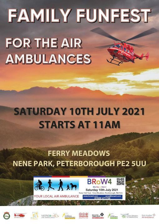 Family Funfest for the Air Ambulances, 10 July | Event in Peterborough | AllEvents.in