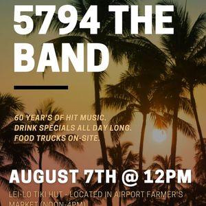 5794 The Band  Lei-Lo Tiki Hut