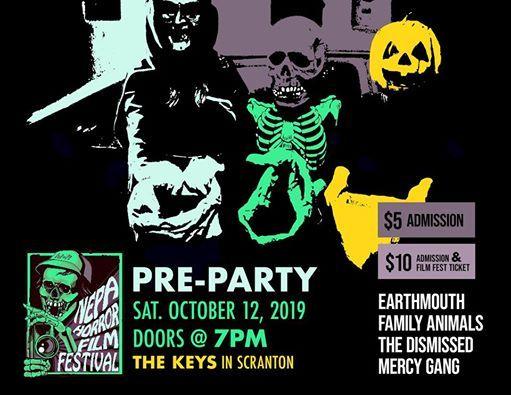 Horror Fest Pre-Party at The Keys   Scranton