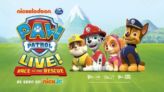 PAW Patrol Live!, 26 July | Event in Aberdeen | AllEvents.in