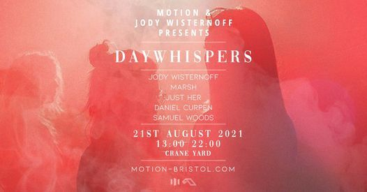 Jody Wisternoff: DAYWHISPERS, 21 August | Event in Bristol | AllEvents.in