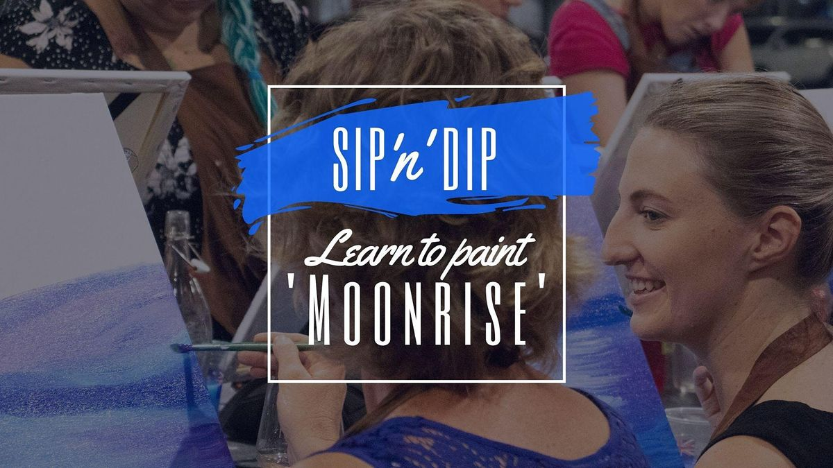 Moselles Springfield - Sip n learn how to paint Moonrise