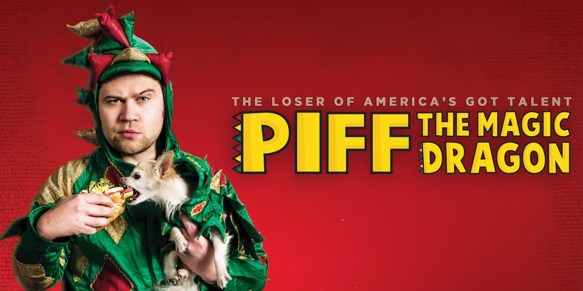 Piff The Magic Dragons Christmas Party at Crest Theatre