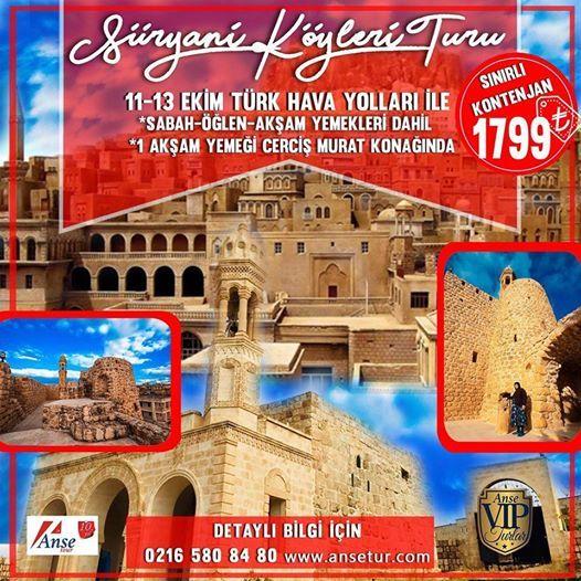 11-13 Ekim Sryani Kyleri Turu