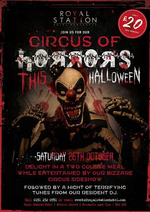 Halloween Circus of Horrors
