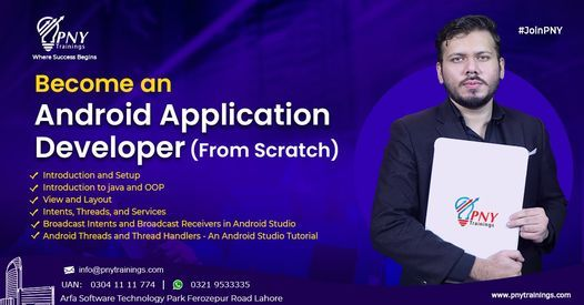 Become an Android Application Developer from Scratch, 20 October | Event in Lahore | AllEvents.in