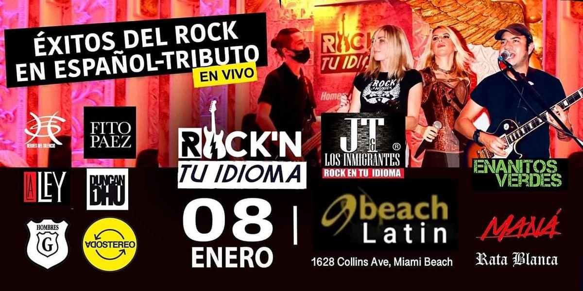 Éxitos del Rock En Español- Tributo en Vivo, 8 de enero |  Evento en Miami Beach |  AllEvents.in