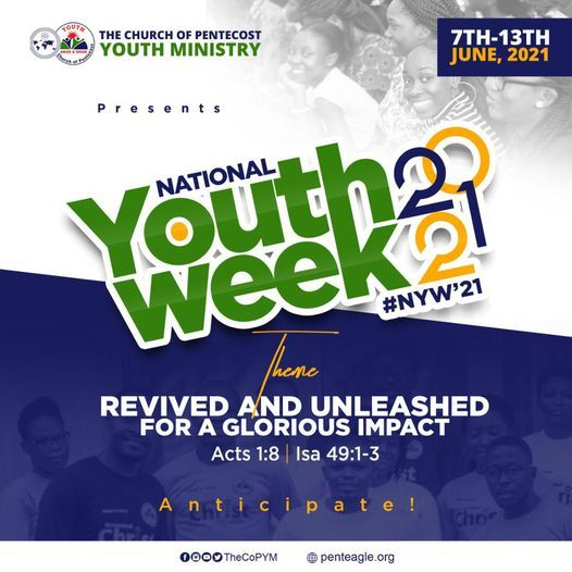 NATIONAL YOUTH WEEK 2021   Event in Kumasi   AllEvents.in