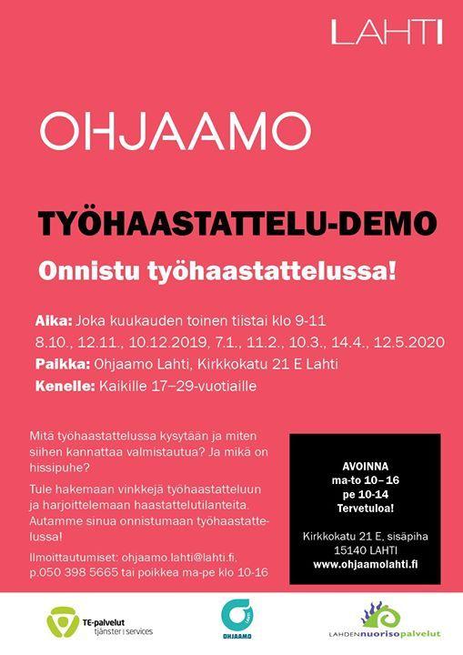 Tyhaastattelu-demo
