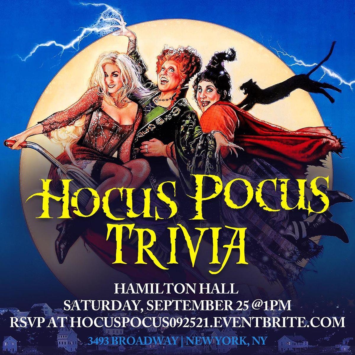 Hocus Pocus Trivia, 25 September | Event in New York | AllEvents.in
