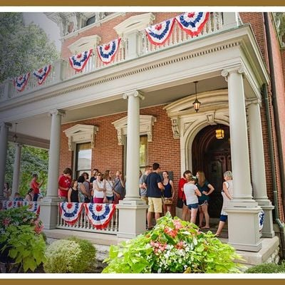 Tours of the Benjamin Harrison Presidential Site 2021