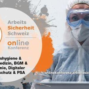 ArbeitsSicherheit Schweiz Online Konferenz