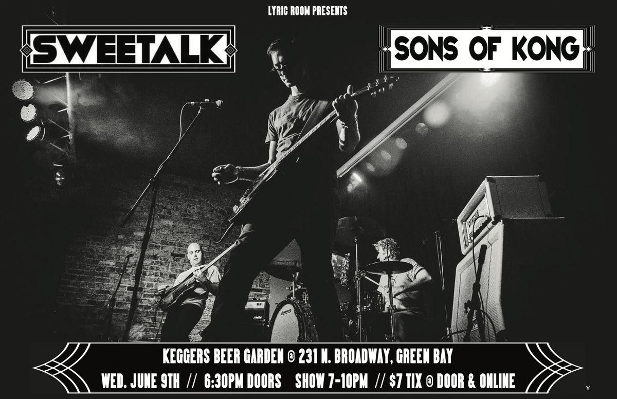 SWEETALK w/SONS OF KONG and CHOKE, 10 December | Event in Green Bay  | AllEvents.in