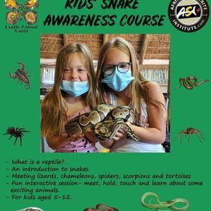 Kids Snake Awareness course